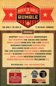 2014 Rock 'N' Roll Rumble | Tyler Littwin, Designer