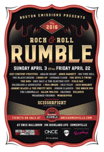 2016 Rock & Roll Rumble | Nicole Anguish, designer