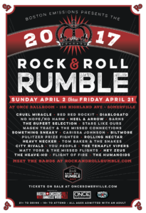 2017 Rock & Roll Rumble | Nicole Anguish, designer