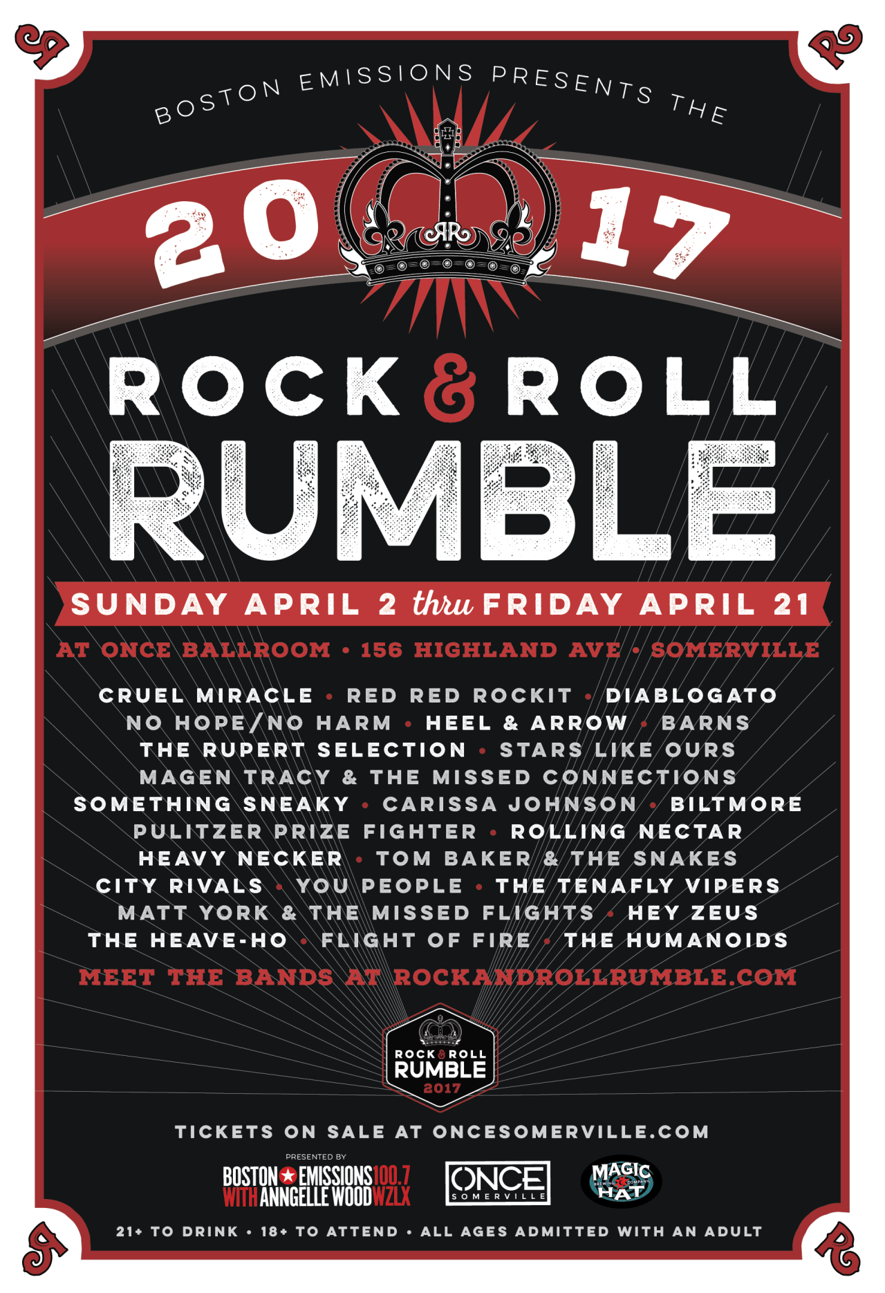2017 Rock 'N' Roll Rumble | Nicole Anguish, designer