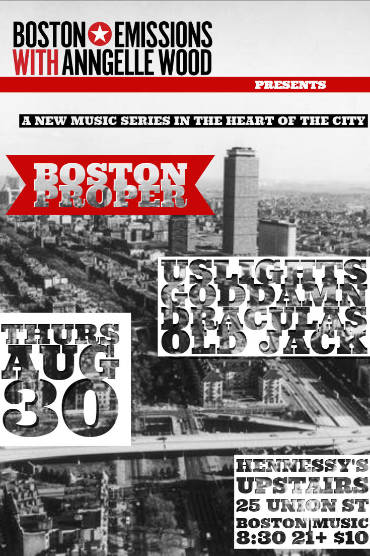 Boston Emissions Returns With New Music Series, Boston Proper